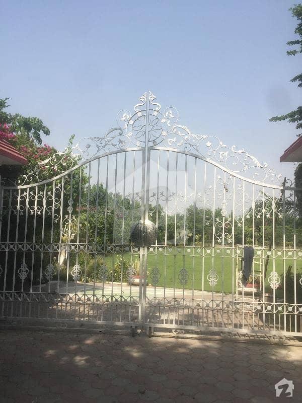 Beautiful Lush Green Farm House For Rent At Raiwind Road