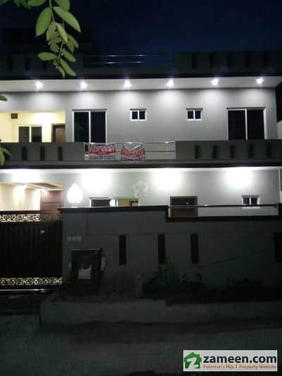 G-10 Beautiful Brand New 35x70 Double Unit House For Sale