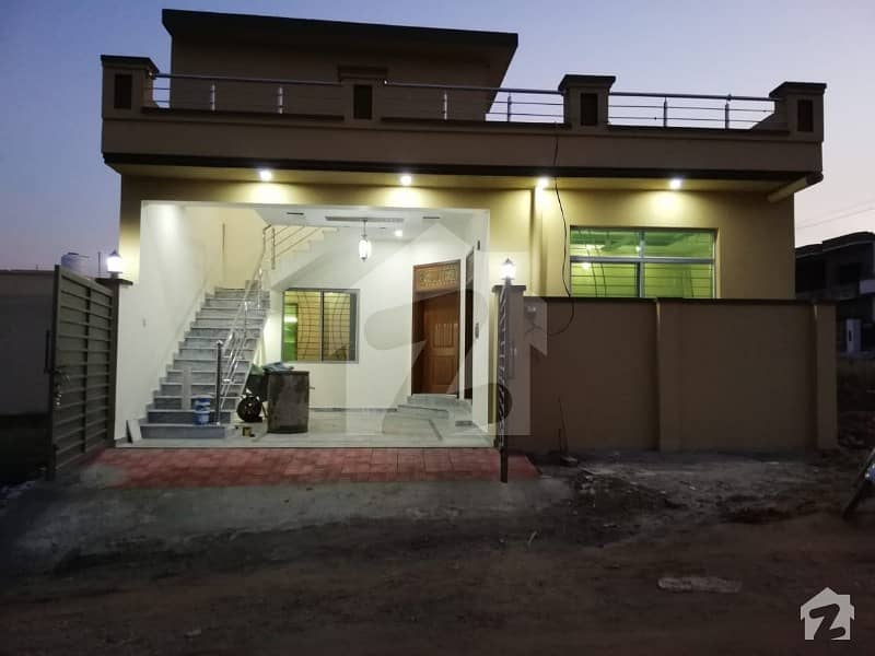 4. 25 Marla Beautiful Newly Constructed House For Sale