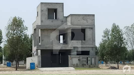 Bahria Orchard 8marla Grey Structure House Available For Sale In OLC B Owner Built House