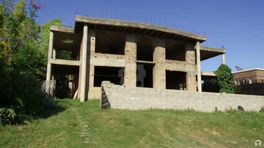 F-11/3 1000 Sq Yard 2 Kanal House Structure Facing Margalla  Hills Bordering Main Margalla Road