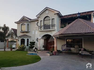 Royal Design Full Furnished 2 Kanal 2 Marla Bungalow Available For Sale Dha Lahore