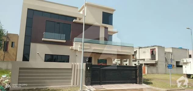 Brand New 13. 25 Marla Corner House For  Sale