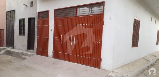 Corner Location House For Sale In Bashir Colony GT Road