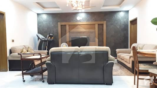 10 Marla Lower Portion Fully Furnished House For Rent