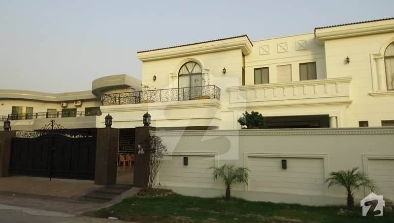 2 Kanal Fully Furnished Spectacular White House With Full Basement And Cinema Hall