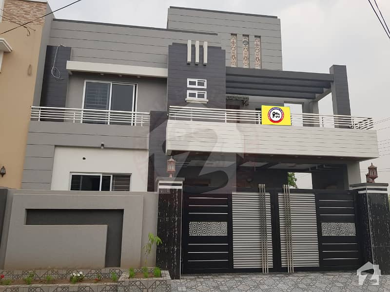 10 Marla double Unit Brand New House For Sale In NFC Society