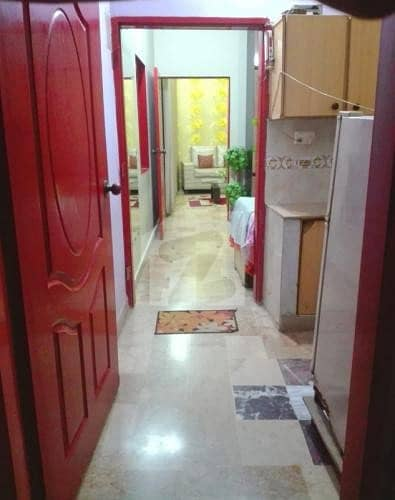 Near Cafe Piyala Hotel To Live In A Well Built Portion For Sale