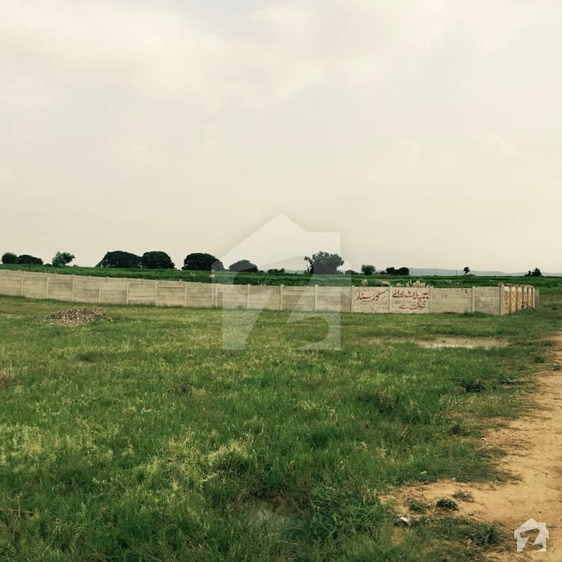 Islamabad Roads: Commercial 4 Kanal Plot For Sale On Main Road Fateh Jang