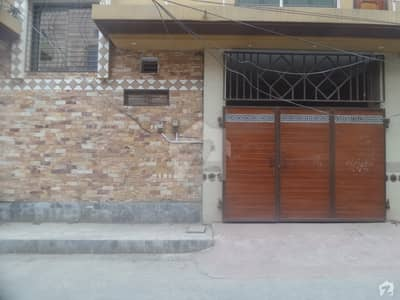 Well-Built House Available On  Good Location On Jhang Road Gulfishan Colony