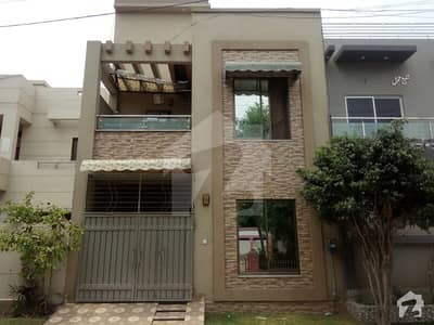 4 Marla Double Storey House For Sale Facing Park
