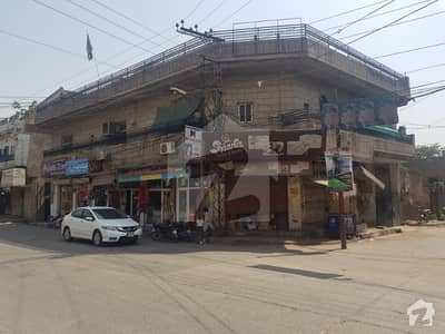 Commercial House With 9-Shops For Sale
