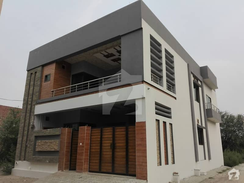 Here Is A Good Opportunity To Live In A Well-Built Corner Extra Ordinary Double Storey Brand New Build House