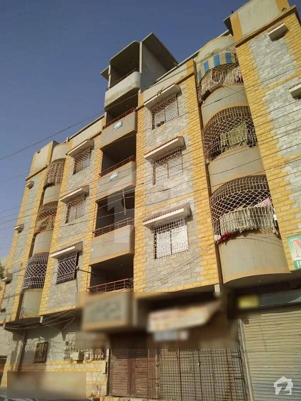 Luxury West Open 2 Bed D/D Apartment Is Available For Sale On Ground Floor In Sector 3 North Karachi
