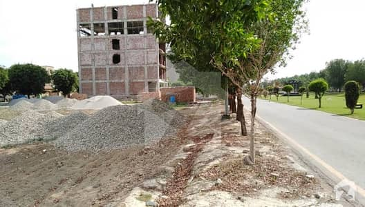 8 Marla Commercial Plot Facing Canal Road In AA Block