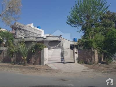 10 Marla Corner House Front 45 Feet Main 50 Feet Road Plot Size 45 X 50 For Sale