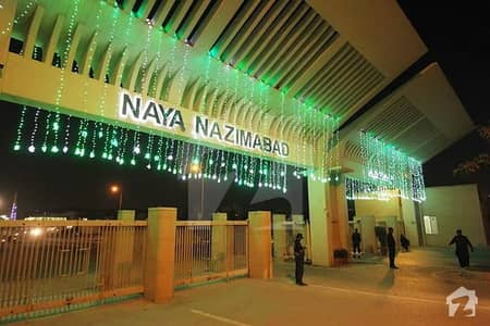 120 Sq Yd West Open Plot Available For Sale In Block N Naya Nazimabad