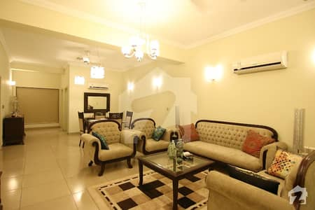 Karakoram Diplomatic Enclave Fully Furnished 2 Bedrooms Luxury Apartment Available For Rent