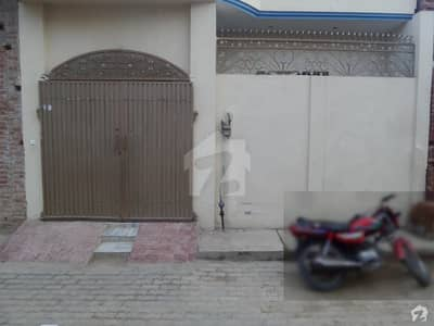 Single Story Beautiful House Is Available For Sale At Javed Town Okara