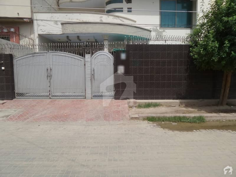 Double Story Beautiful Banglow Is Available For Sale At Aziz Yaqoob Town Okara