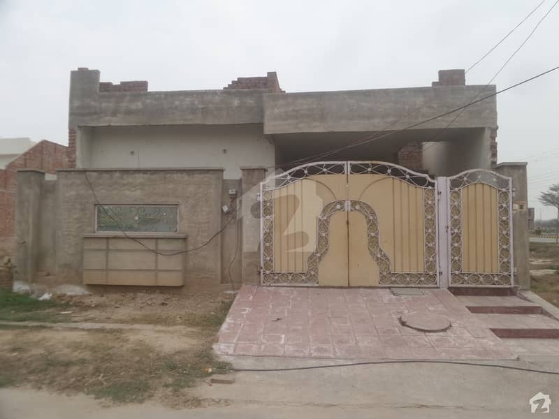 Here Is A Good Opportunity To Live In A Well-built House - Khayaban E Manzoor Jarwala Road