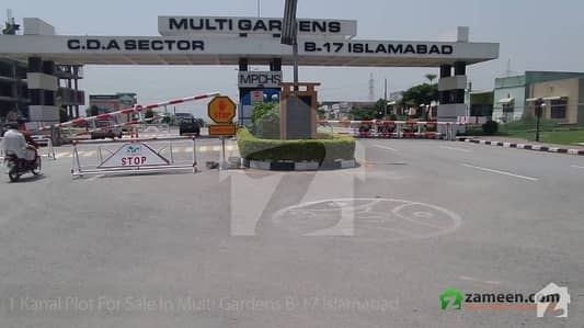 Ideally Located Plot In Mpchs B-17 Islamabad