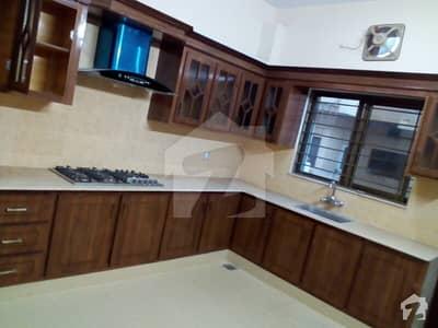 i-8 size (40X80) corner extra loan green double story house +basement  Near to shafia hospital& international school2separate unit