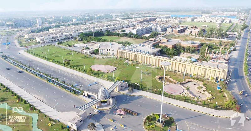 5 Marla Developed Plot Near To Bahria Head Office For Sale