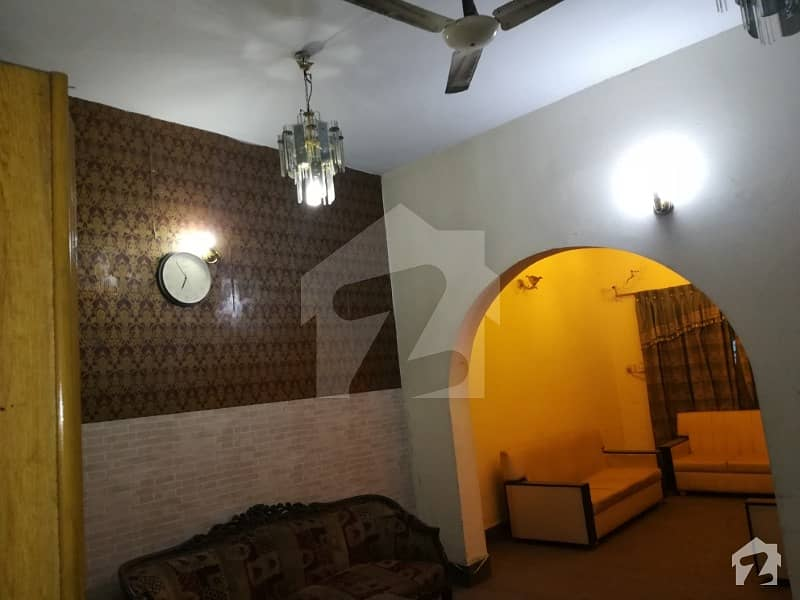 Furnished Garden Portion For Rent In Gulberg 5