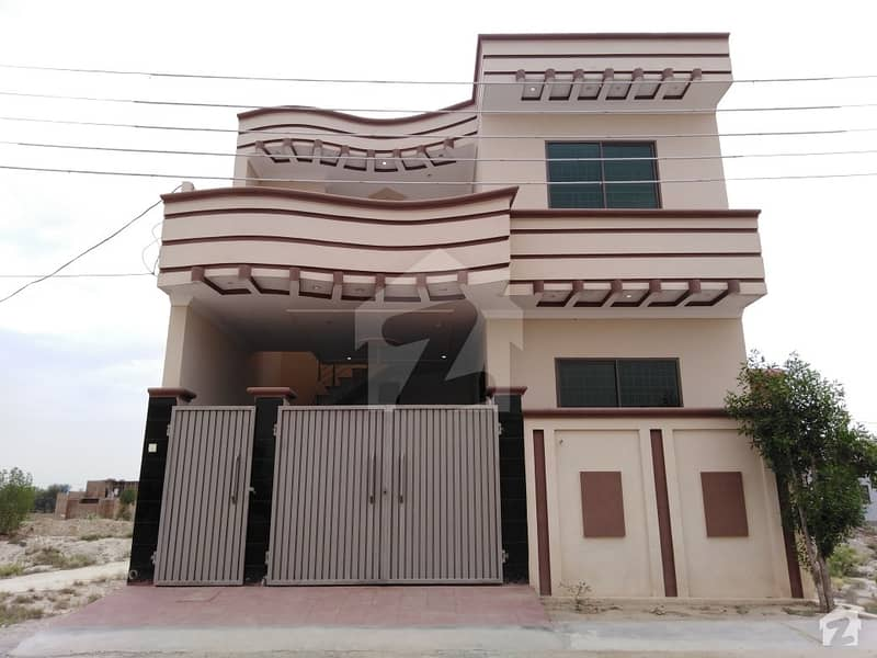 Here Is A Good Opportunity To Live In A Well-Built 5 Marla Double Storey House