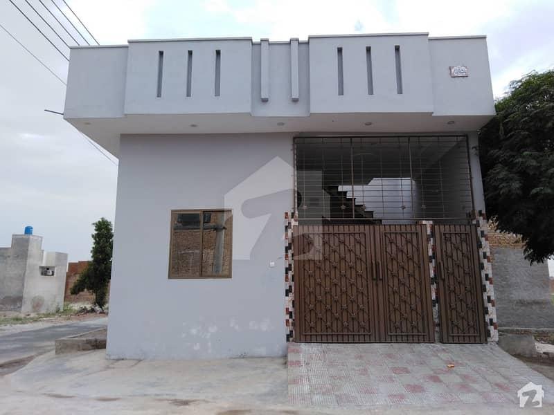 4 Marla Corner Single Storey House For Sale