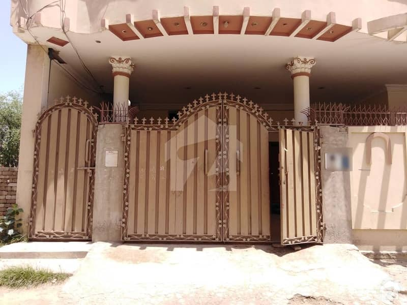 Here Is A Good Opportunity To Live In A Well-Built 10 Marla Double Storey House