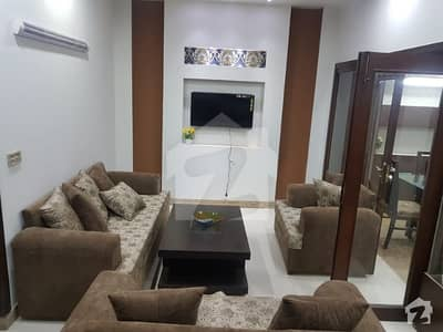 5 Marla Furnished Ideal Location House Available For Rent With Gas In Bahria Town