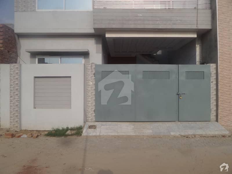 Double Storey Beautiful House For Sale At Al Sadiq Block Okara