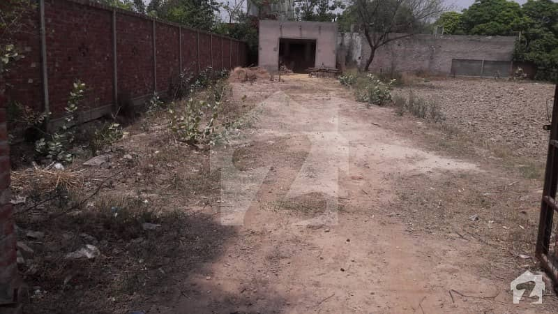 9 Kanal Farmhouse Land Complete Boundary Wall In Theater Bedian Road Dha Phase 9 Lahore