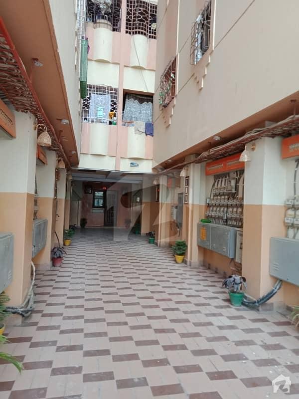 Flat for Rent VIP Sector 11A North Karachi Flourish View Apartment