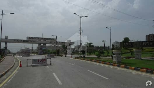 Corner Residential Double Road facing Plot Available For Sale In B-17 Block C