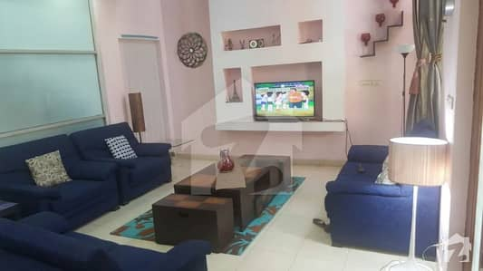 Marla Ideal Location Luxury Full Furnished House Available For Rent With Gas In Bahria Town