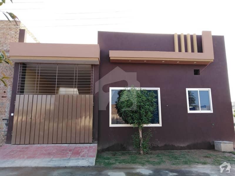 3. 5 Marla Single Storey House For Sale