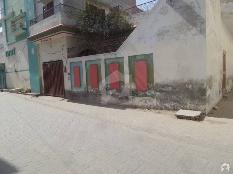 Double Storey Beautiful Corner House For Sale At Ilyas Park Okara