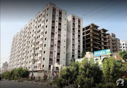 شاز ریزیڈنسی گلشنِ اقبال ٹاؤن کراچی میں 2 کمروں کا 3 مرلہ فلیٹ 53.6 لاکھ میں برائے فروخت۔