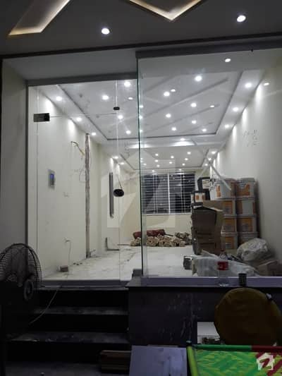 BRAND NEW SHOPR ON MAN ROAD OF SECTOR D
