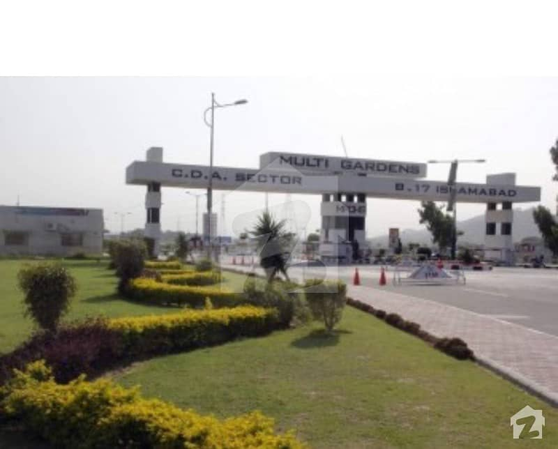 5 Marla Plot For Sale In Block F B-17 Islamabad