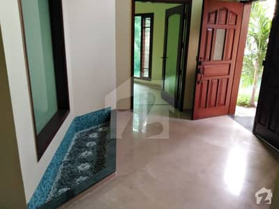 500 Sq Yards Ground Floor Exclusive Portion For Rent