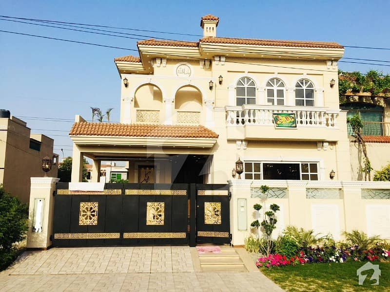 Spanish Designed 10 Marla Brand New Bungalow Is For Sale