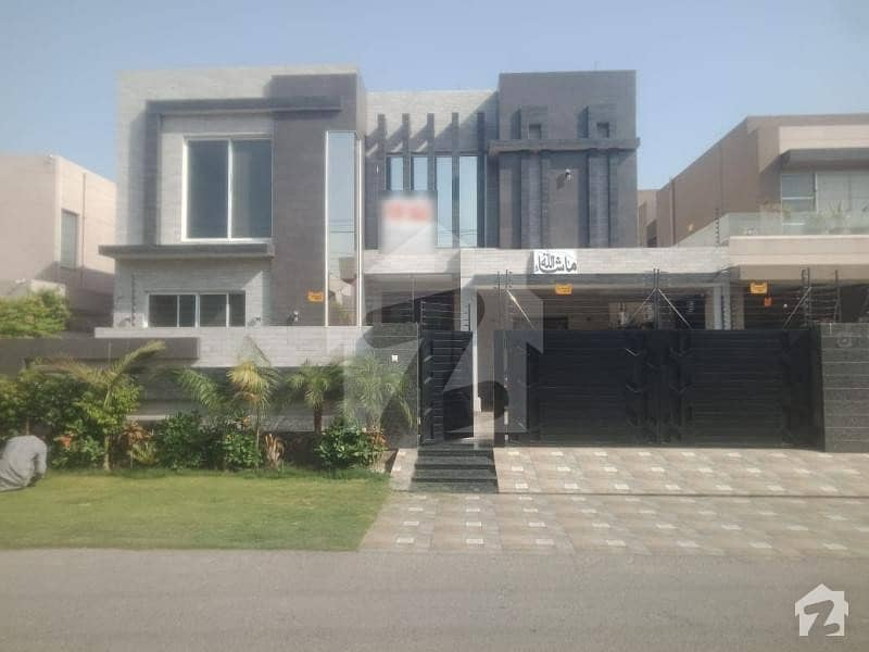 With Swimming Pool And Home Theater Extremely  Beautiful  Used Bungalow Available For Sale In Block X
