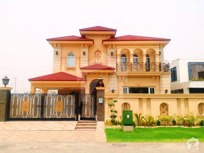 1 Kanal Brand New Faisal Rasul Design With Basement Bungalow For Sale