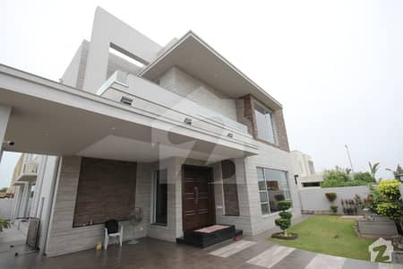 One kanal Brand New Designer Bungalow with full Basement and Cinema Hall Near park Masjid and Commercial