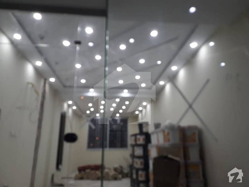 BRAND NEW SHOPE AT MAN HOT LOCATION AVALABLE IN SECTOR D