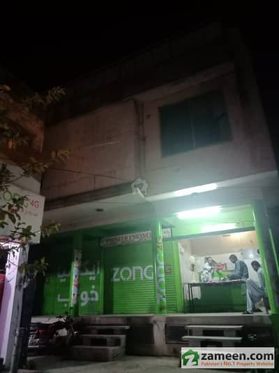 F-7/4 In Maqbool Market Building For Sale On Ground Floor Shops 2 Flats Of 3 Bed